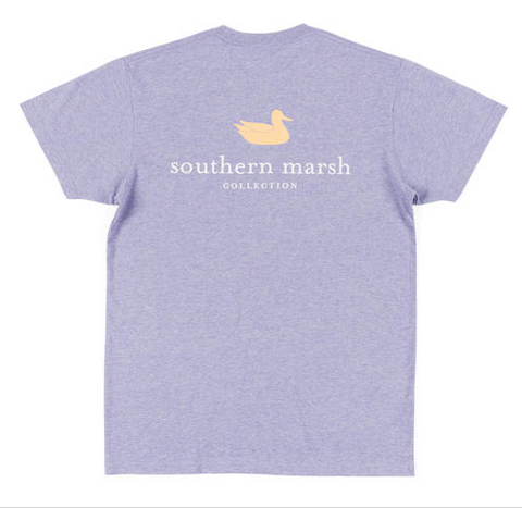 Southern Marsh Authentic SS Tee - Washed Berry