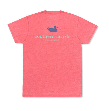 Southern Marsh Seawash SS Tee - Strawberry Fizz