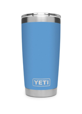 Yeti Rambler 20 oz Tumbler With MagSlider Lid - Pacific Blue