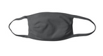 Grey Non-Pleated Cloth Face Mask