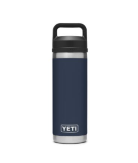 Rambler 18 oz Bottle with Chug Cap - Navy