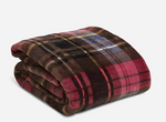 Plush Throw Blanket-Cozy Plaid