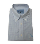 Bamboo Dress Shirt Light Blue/Purple/Green
