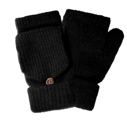 Do everything in Love Brand Fingerless Pop Top Knit Mittens