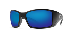 Blackfin Matte Black Blue Mirror 580P