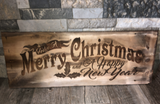 Lasered Engraved Wood Cut Plank