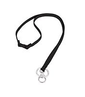Iconic Breakaway Lanyard Black
