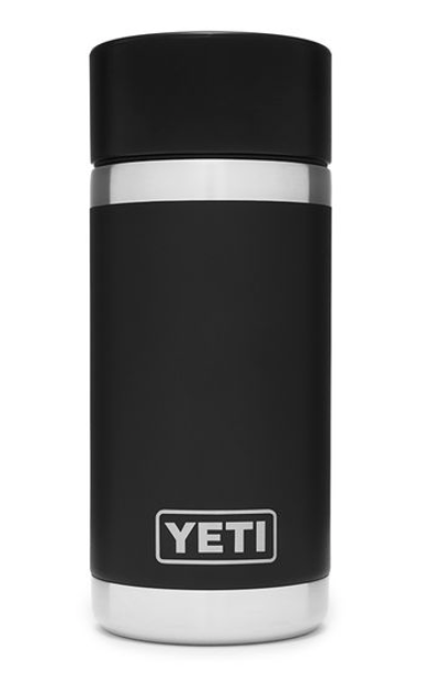 Yeti Rambler 12 oz Bottle Black with HotShot Cap