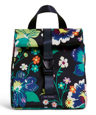 Vera Bradley Lighten Up Lunch Tote Firefly Garden