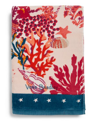 Vera Bradley Shore Thing Beach Towel