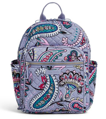 Vera Bradley Makani Paisley Iconic Small Backpack