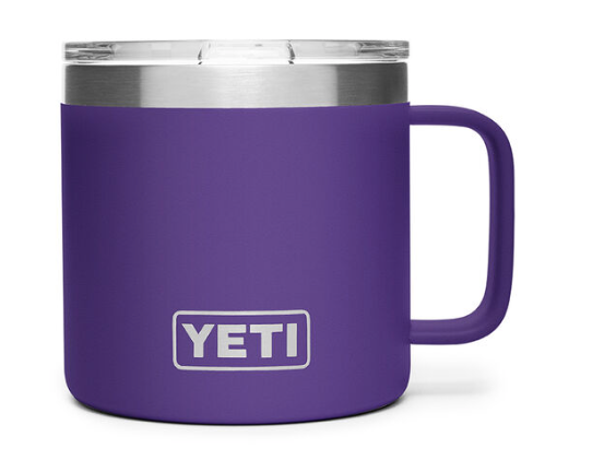 Yeti Rambler 14oz Mug Peak Purple