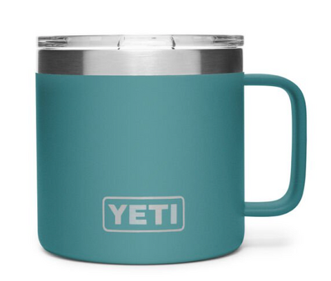 Yeti 14 oz River Green Mug