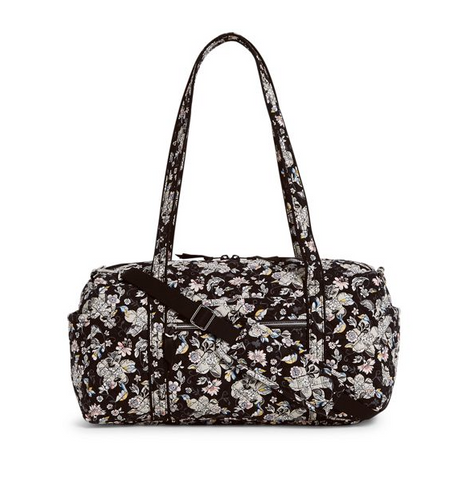 Vera Bradley Iconic Small Travel DUffel Holland Garden
