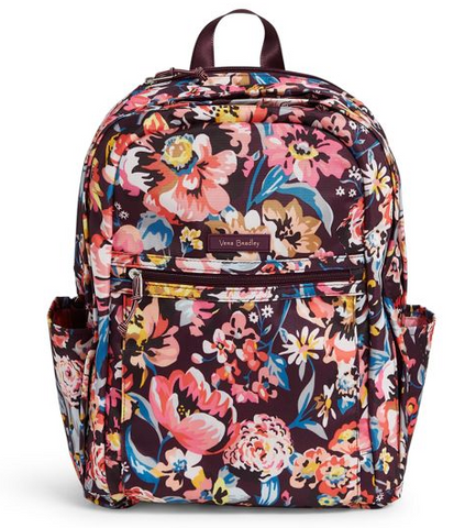 Lighten Up Grand Backpack Wine Blossoms