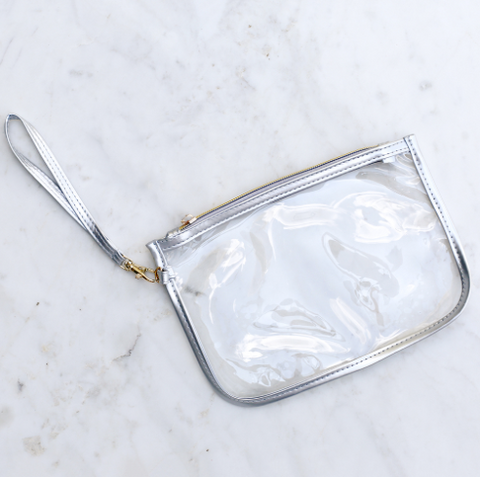 Alma Clear Crossbody Rose Gold 9x6