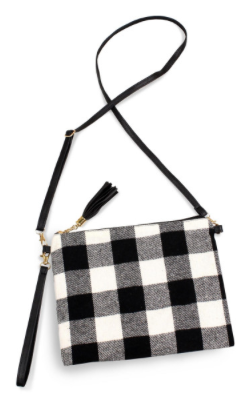 Buffalo Check Crossbody