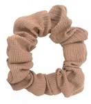 Tan scrunchie