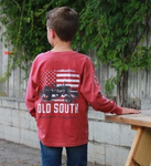 Old South Youth Crimson Tractor Tee