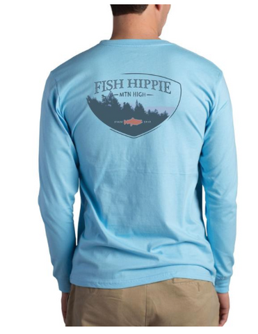 Sky Blue T-shirt Mountain High