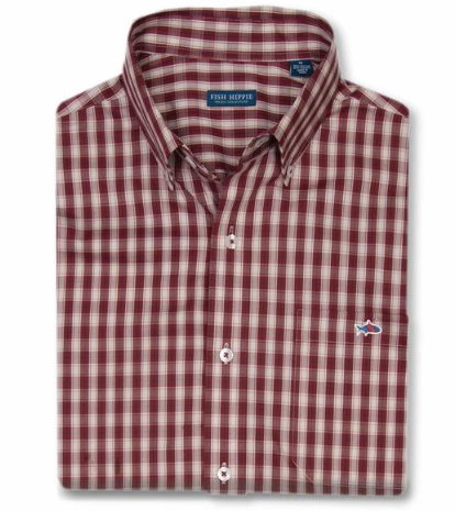 Burgandy Shuckerhut Plaid Sale