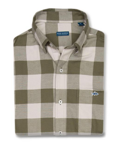 Hunter Green Henny Plaid Flannel