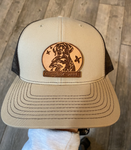 Country Casual Patch Hat Khaki and Mocha
