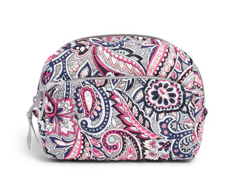 Iconic Medium Cosmetic Bag Gramercy Paisley
