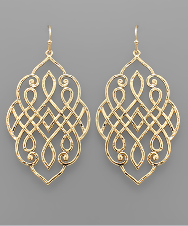 Filigree Arabesque Earrings