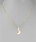 Moon Layer Necklace