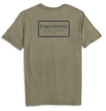 Fish Hippie Buffer Tee - Heather Green