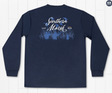 Southern Marsh Morning Flyover Comfort Tee