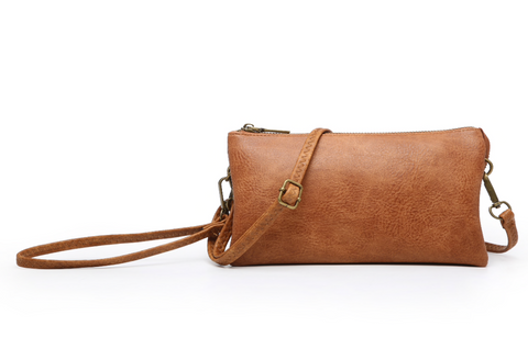 Riley Cross-body and Wristlet Combo