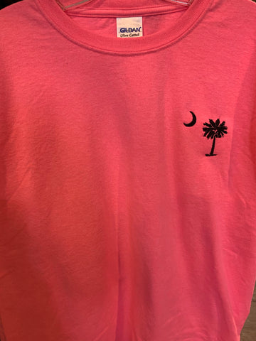 Youth Neon Pink SC State T-shirt