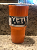 Dipped Yeti Orange Tumbler