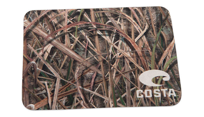 Costa Micro-Fiber Cleaning Cloth Mossy Oak Shadow Grass Blades Camo