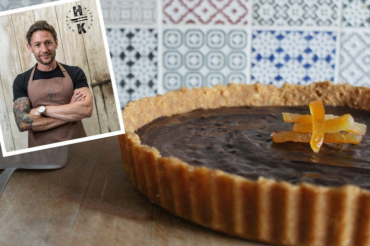 Gnaw Chocolate and Orange Tart.