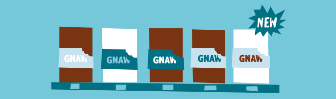 Gnaw story - shelves