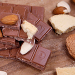 Organic Almond & Biscuit Milk Chocolate Bar