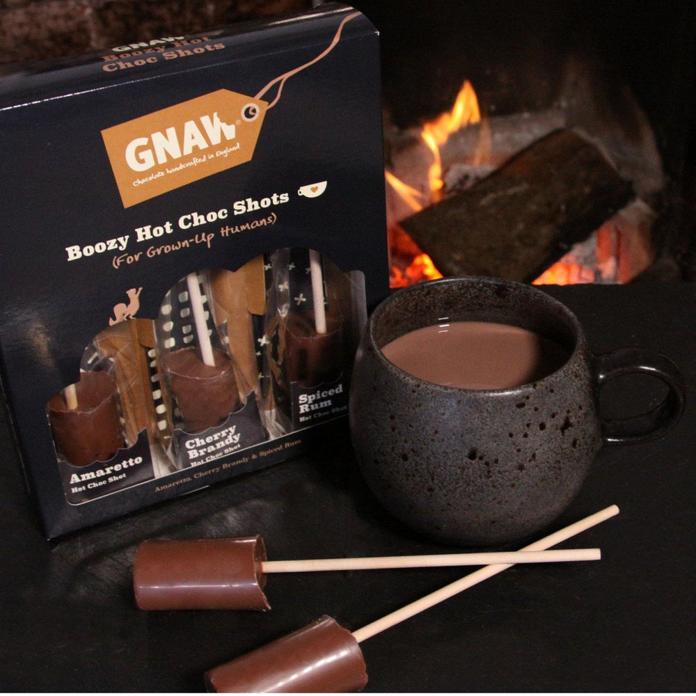 Boozy Infused Hot Chocolate Shot Gift Box
