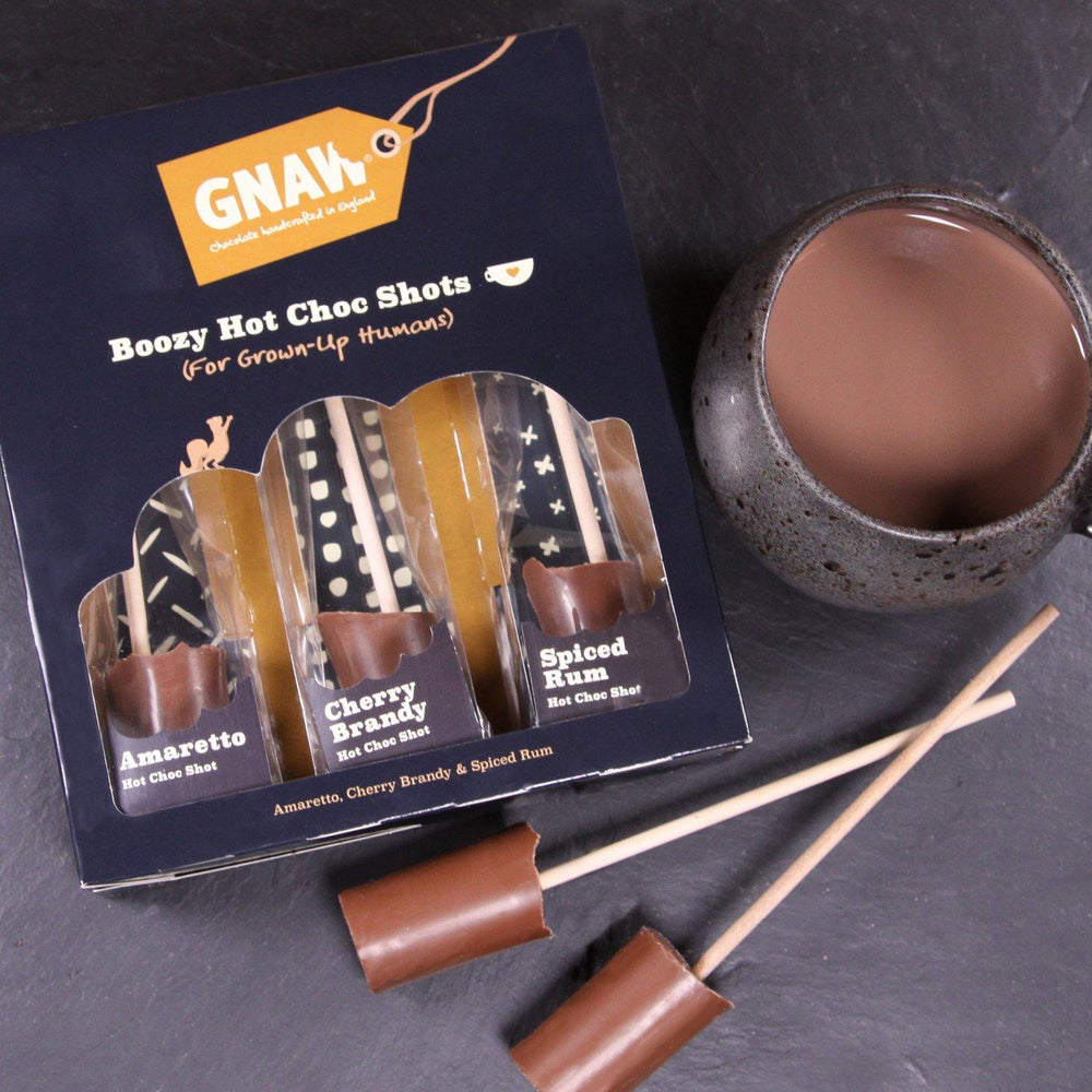 Boozy Hot Chocolate Shot Gift Box