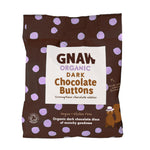 Organic Dark Chocolate Buttons • Vegan