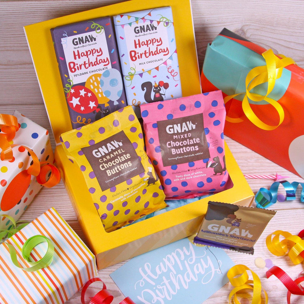 Create Your Own Birthday Chocolate Box