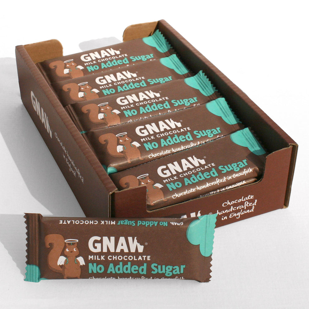 No Added Sugar Milk Chocolate Bars 35g (x25)