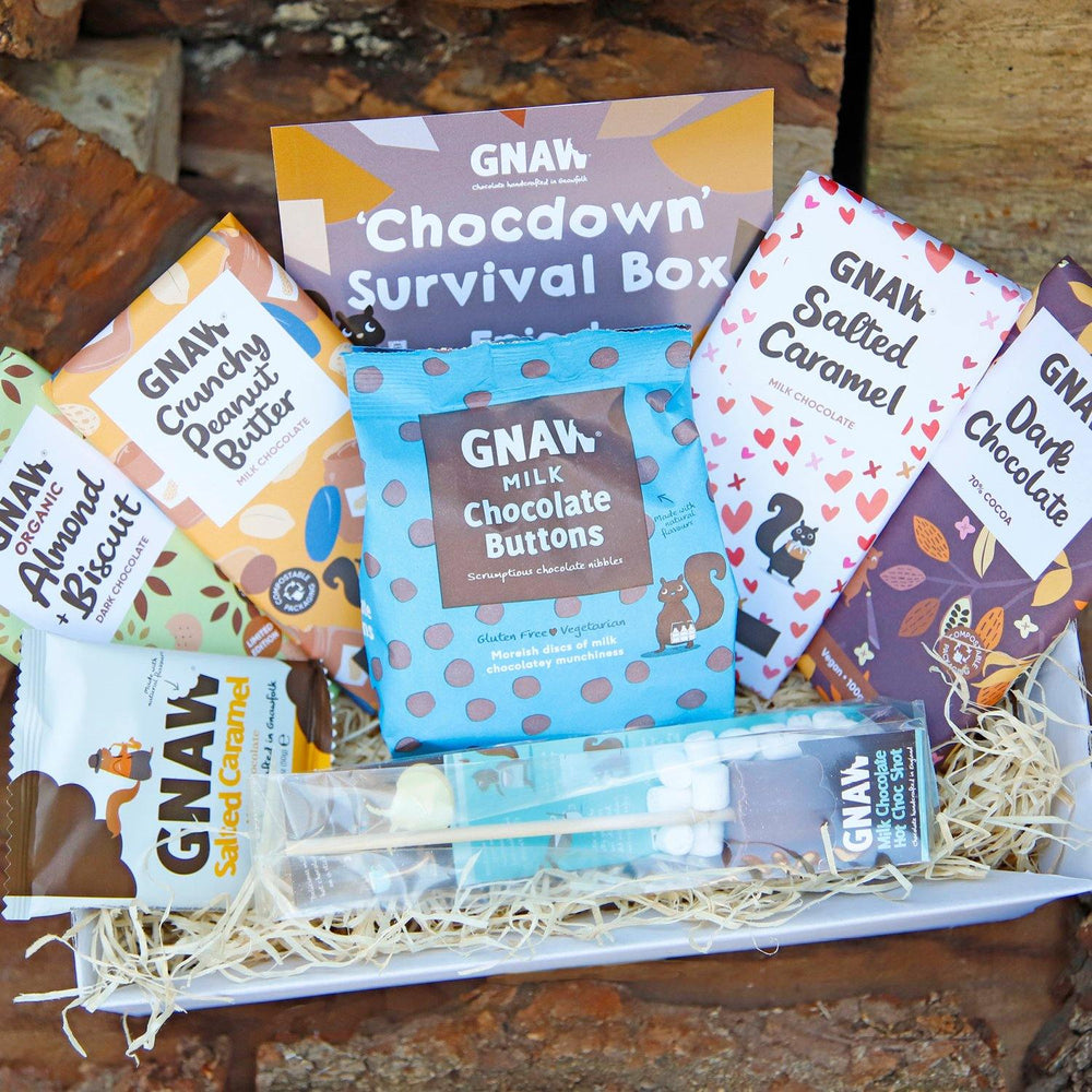 Chocdown Survival Box