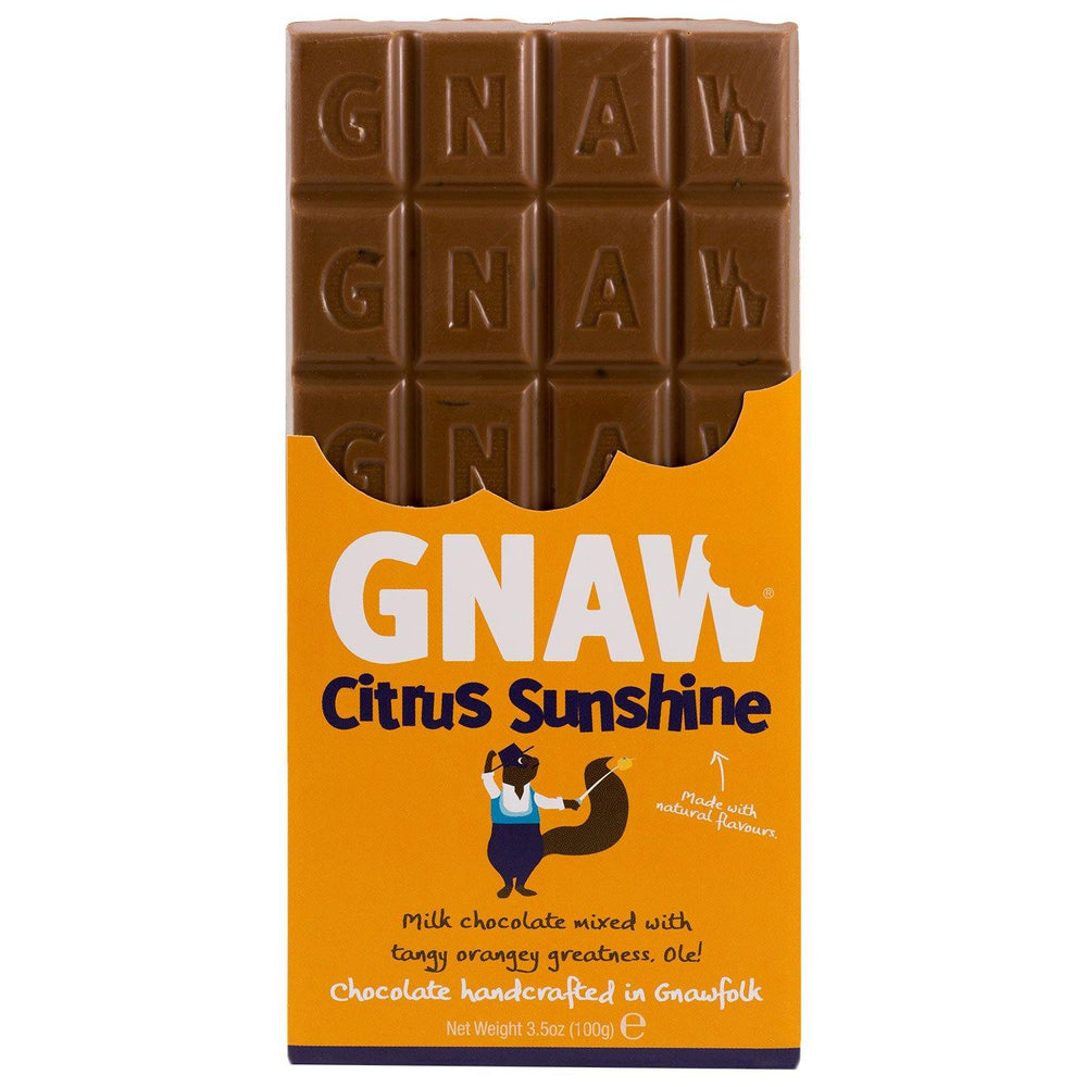 Citrus Sunshine Milk Chocolate Bar