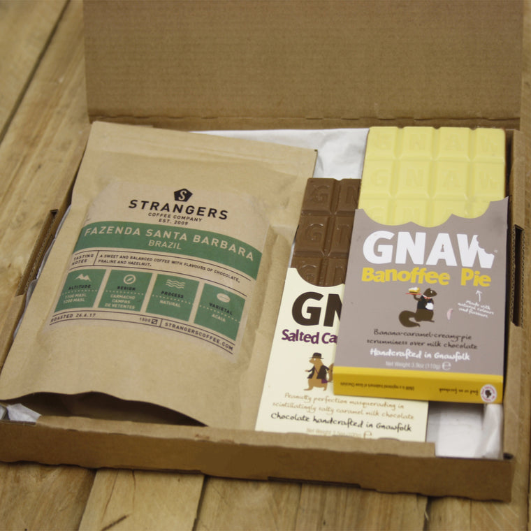 Gnaw Choc Favourites + Coffee Gift Box