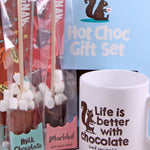 Hot Chocolate Mug Gift Set Blue