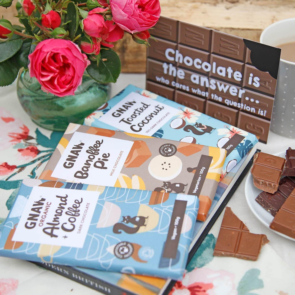 Chocolate Is The Answer Letterbox Chocolates