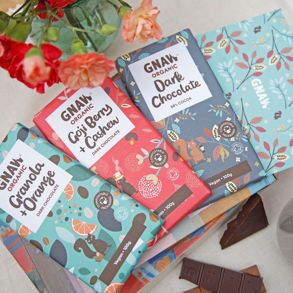 Vegan Letterbox Chocolates